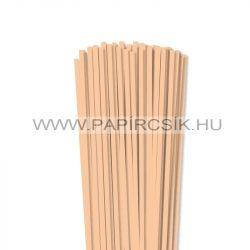Körperfarbe / Pfirsich, 5mm Quilling Papierstreifen (100 Stück, 49 cm)