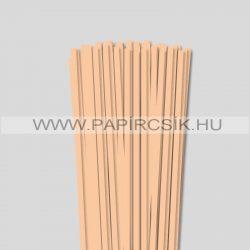 Körperfarbe / Pfirsich, 6mm Quilling Papierstreifen (90 Stück, 49 cm)