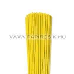 Gelb, 4mm Quilling Papierstreifen (110 Stück, 49 cm)