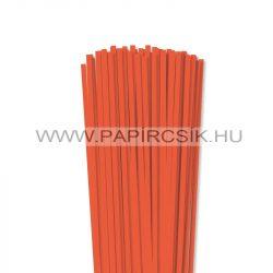 Orange, 5mm Quilling Papierstreifen (100 Stück, 49 cm)