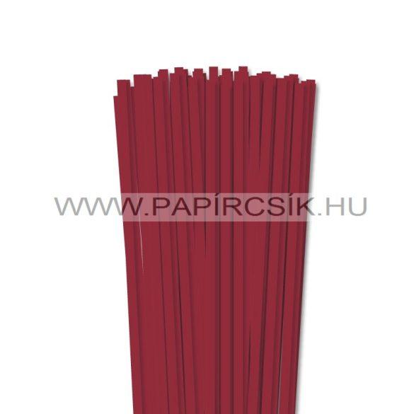 Dunkelrot, 6mm Quilling Papierstreifen (90 Stück, 49 cm)