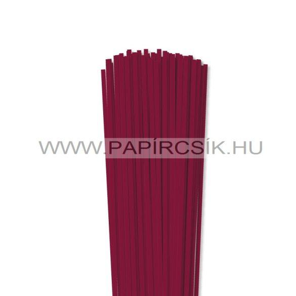 Kirschfarbe, 4mm Quilling Papierstreifen (110 Stück, 49 cm)