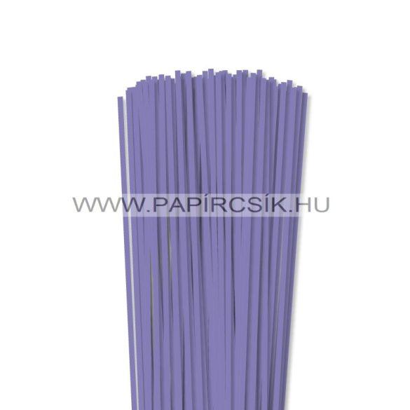 Violettblau, 4mm Quilling Papierstreifen (110 Stück, 49 cm)