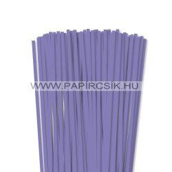Violettblau, 6mm Quilling Papierstreifen (90 Stück, 49 cm)