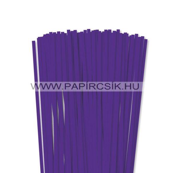 Violett, 6mm Quilling Papierstreifen (90 Stück, 49 cm)