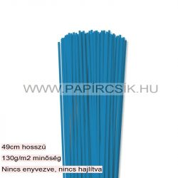 Blau, 3mm Quilling Papierstreifen (120 Stück, 49 cm)