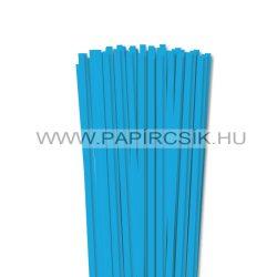 Pazifik-Blau, 6mm Quilling Papierstreifen (90 Stück, 49 cm)