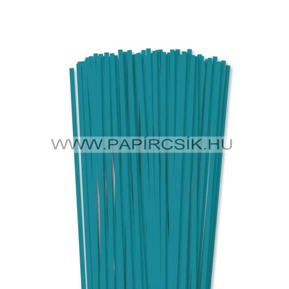 Türkis, 5mm Quilling Papierstreifen (100 Stück, 49 cm)