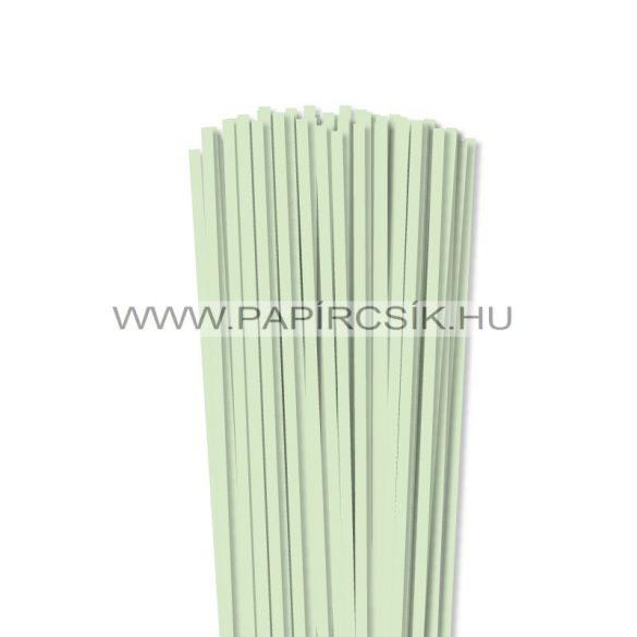 Blassgrün, 5mm Quilling Papierstreifen (100 Stück, 49 cm)