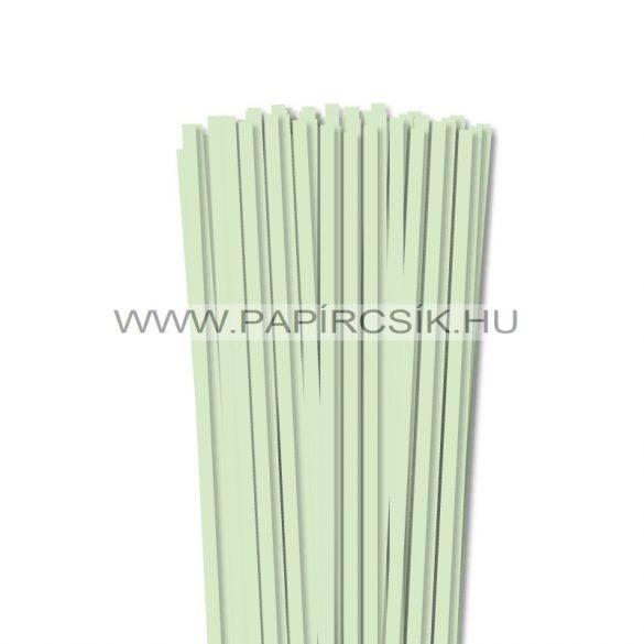 Blassgrün, 6mm Quilling Papierstreifen (90 Stück, 49 cm)
