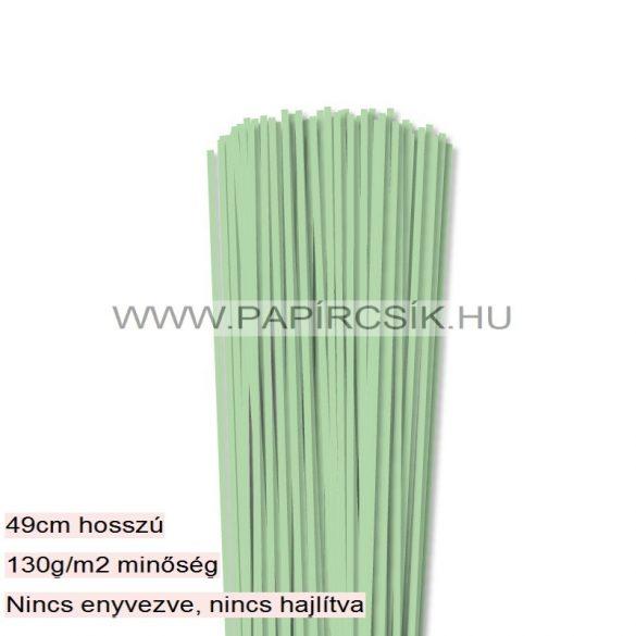 Mittelgrün, 3mm Quilling Papierstreifen (120 Stück, 49 cm)
