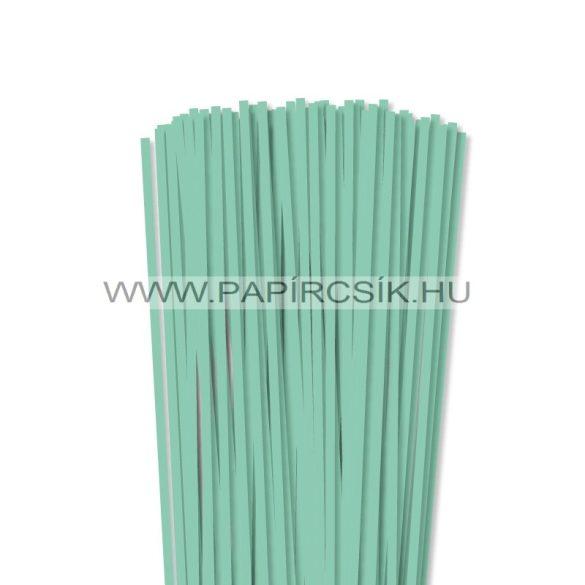 Minzgrün, 5mm Quilling Papierstreifen (100 Stück, 49 cm)
