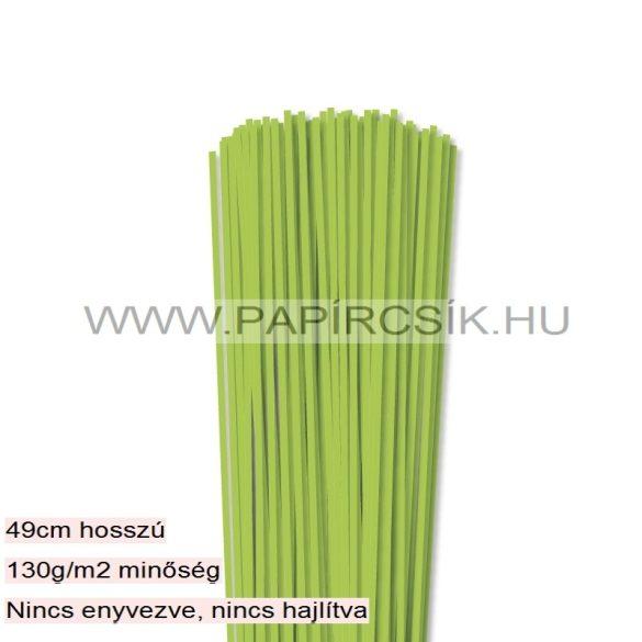 Mai-Grün, 3mm Quilling Papierstreifen (120 Stück, 49 cm)