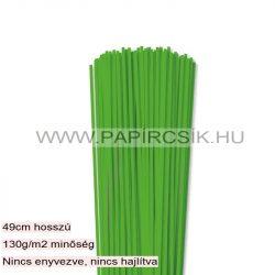 Grasgrün, 3mm Quilling Papierstreifen (120 Stück, 49 cm)
