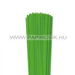 Grasgrün, 4mm Quilling Papierstreifen (110 Stück, 49 cm)