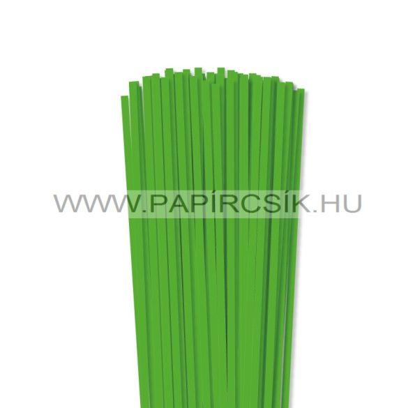 Grasgrün, 5mm Quilling Papierstreifen (100 Stück, 49 cm)