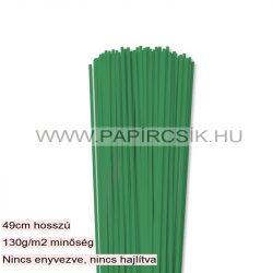 Moosgrün, 3mm Quilling Papierstreifen (120 Stück, 49 cm)
