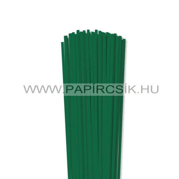 Dunkelgrün, 4mm Quilling Papierstreifen (110 Stück, 49 cm)