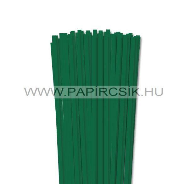 Dunkelgrün, 6mm Quilling Papierstreifen (90 Stück, 49 cm)