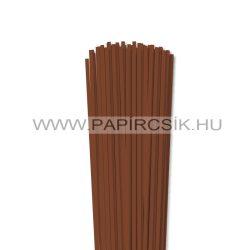 Braun, 4mm Quilling Papierstreifen (110 Stück, 49 cm)