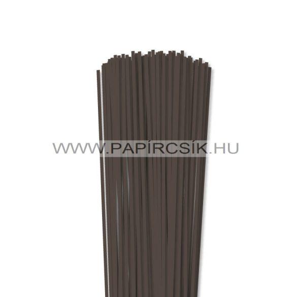 Dunkelbraun, 3mm Quilling Papierstreifen (120 Stück, 49 cm)