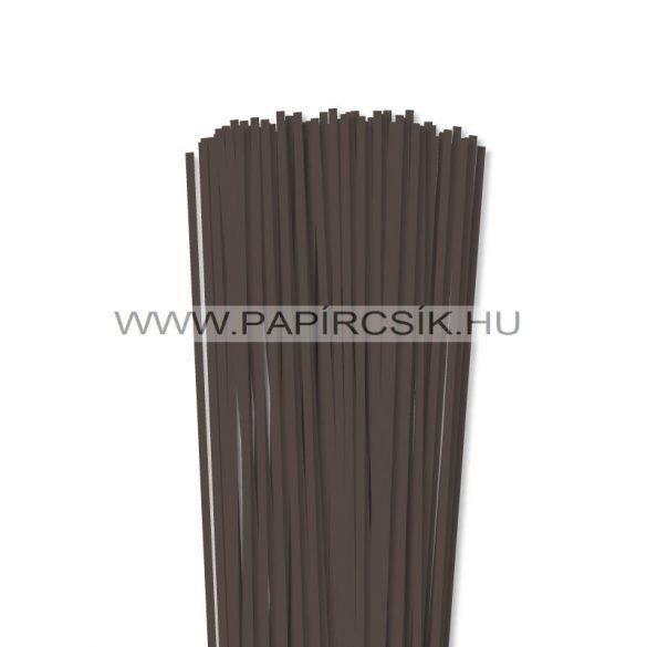 Dunkelbraun, 4mm Quilling Papierstreifen (110 Stück, 49 cm)