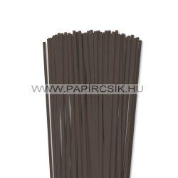 Dunkelbraun, 5mm Quilling Papierstreifen (100 Stück, 49 cm)
