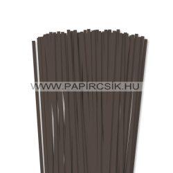 Dunkelbraun, 6mm Quilling Papierstreifen (90 Stück, 49 cm)