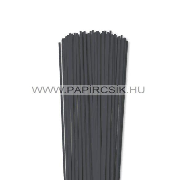 Antracit, 3mm Quilling Papierstreifen (120 Stück, 49 cm)