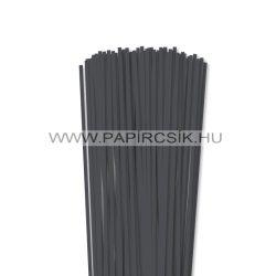 Antracit, 4mm Quilling Papierstreifen (110 Stück, 49 cm)