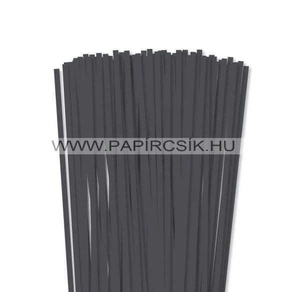Antracit, 6mm Quilling Papierstreifen (90 Stück, 49 cm)