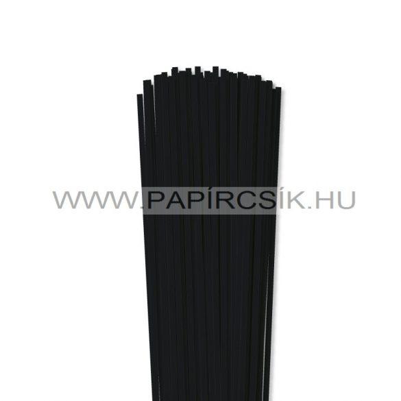 Schwarz, 4mm Quilling Papierstreifen (110 Stück, 49 cm)