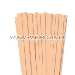 Körperfarbe / Pfirsich, 10mm Quilling Papierstreifen (50 Stück, 49 cm)