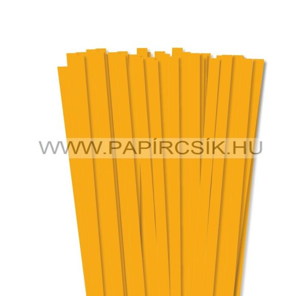 Dunkelgelb, 10mm Quilling Papierstreifen (50 Stück, 49 cm)