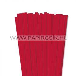 Leuchtend Rot, 10mm Quilling Papierstreifen (50 Stück, 49 cm)