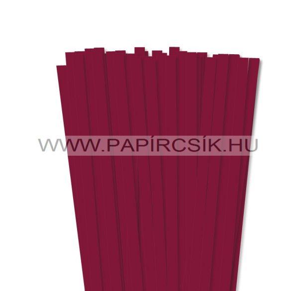 Kirschfarbe, 10mm Quilling Papierstreifen (50 Stück, 49 cm)