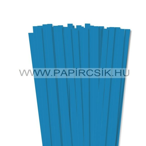 Blau, 10mm Quilling Papierstreifen (50 Stück, 49 cm)