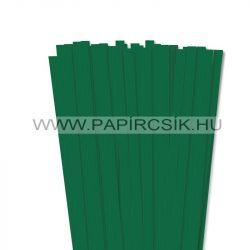 Dunkelgrün, 10mm Quilling Papierstreifen (50 Stück, 49 cm)