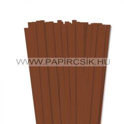 Braun, 10mm Quilling Papierstreifen (50 Stück, 49 cm)
