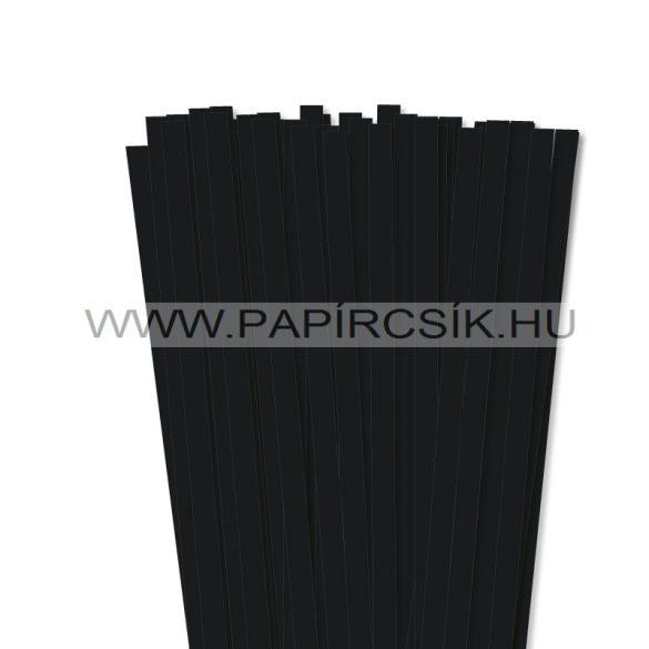 Schwarz, 10mm Quilling Papierstreifen (50 Stück, 49 cm)
