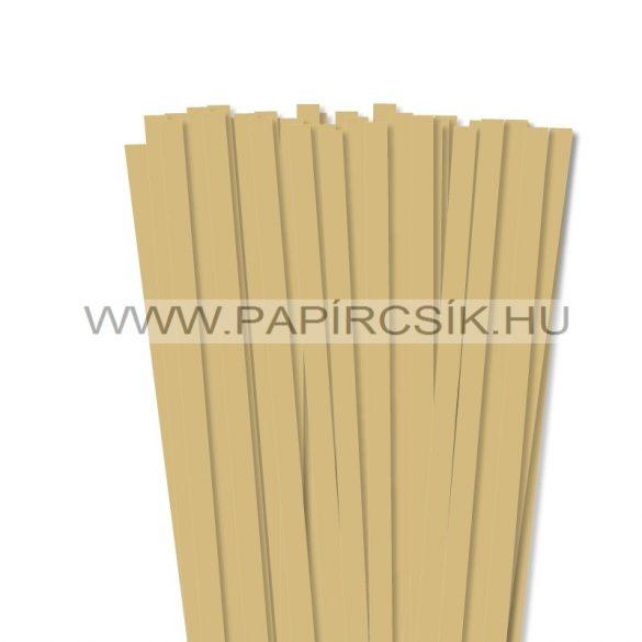 Gold, 10mm Quilling Papierstreifen (50 Stück, 49 cm)