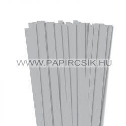 Silber, 10mm Quilling Papierstreifen (50 Stück, 49 cm)