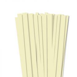 Vanille, 10mm Quilling Papierstreifen (50 Stück, 49 cm)