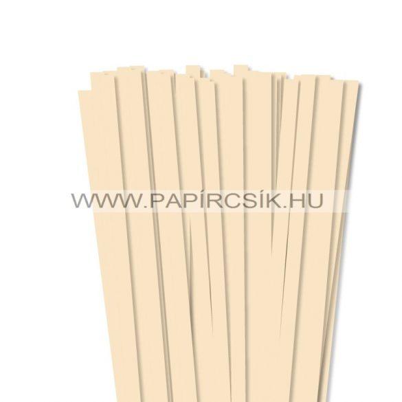 Creme, 10mm Quilling Papierstreifen (50 Stück, 49 cm)