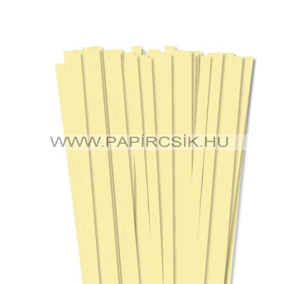 Hellgelb, 10mm Quilling Papierstreifen (50 Stück, 49 cm)