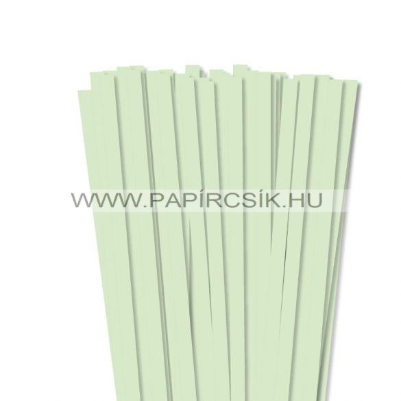 Blassgrün, 10mm Quilling Papierstreifen (50 Stück, 49 cm)