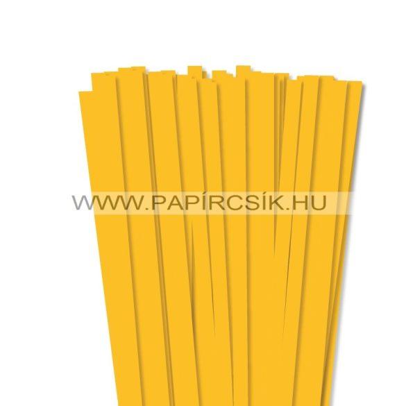 Warmgelb, 10mm Quilling Papierstreifen (50 Stück, 49 cm)