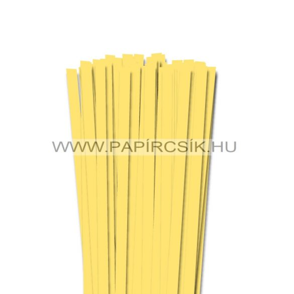 Kanariengelb, 10mm Quilling Papierstreifen (50 Stück, 49 cm)