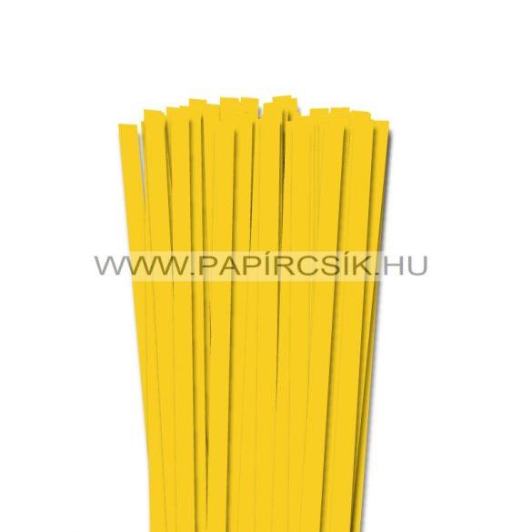Bananengelb, 10mm Quilling Papierstreifen (50 Stück, 49 cm)