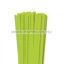 Frühlingsgrün, 10mm Quilling Papierstreifen (50 Stück, 49 cm)